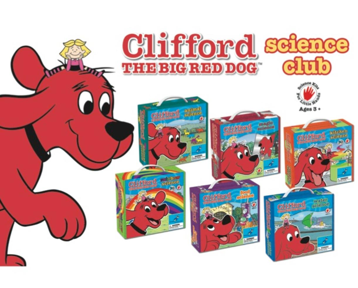 Deal 99 For 6 Months Of Clifford The Big Red Dog Science