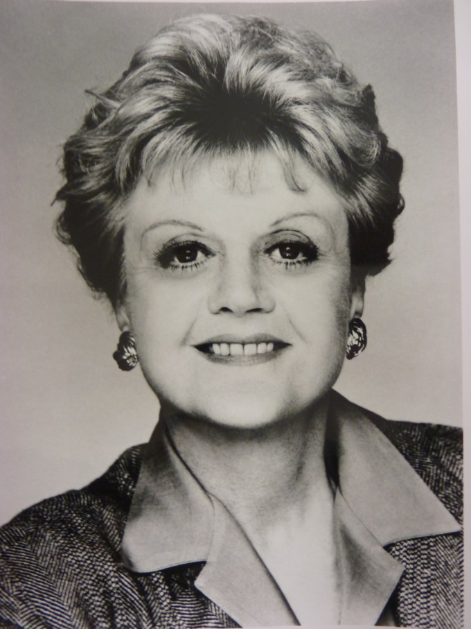 an angela lansbury autographed script from murder, she