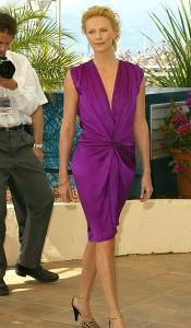 Charitybuzz  Lanvin Dress Worn by Charlize Theron at the Cannes Film     Detail