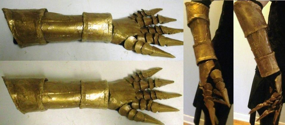 Vincent Valentine Gauntlet A Costume Other On Cut Out Keep Creation By Crimsaros