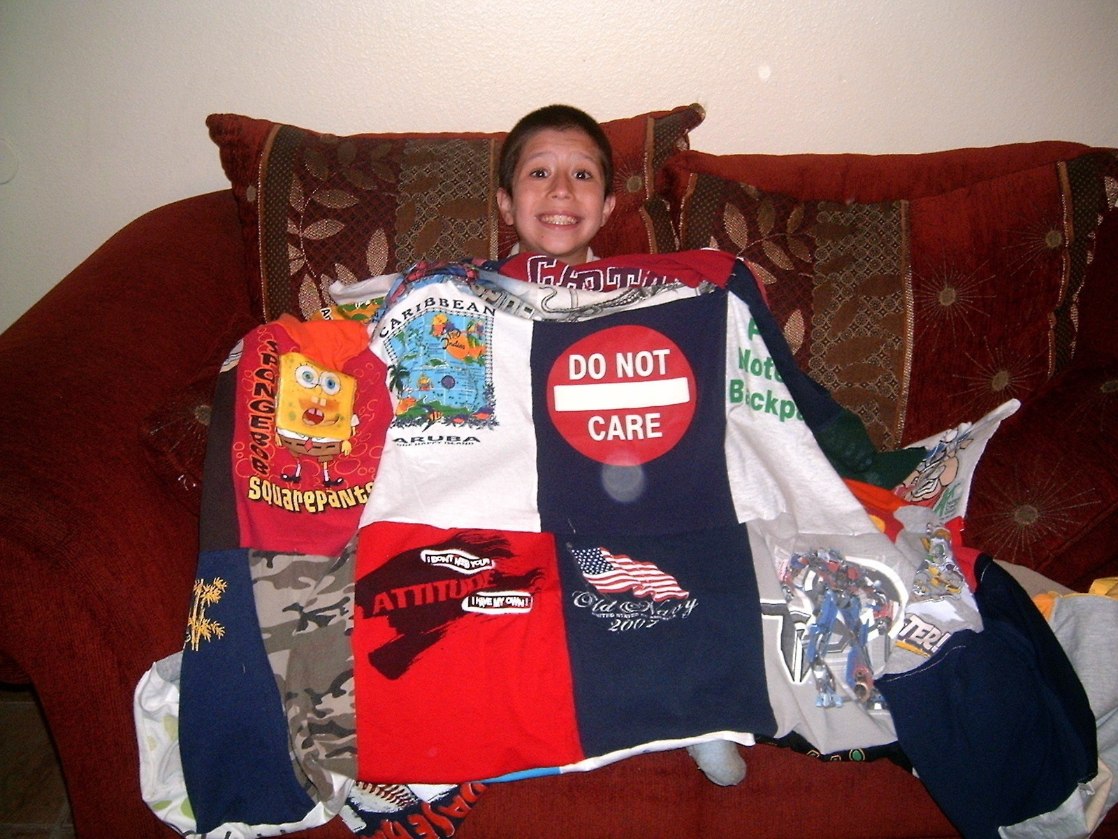 T Shirt Blankets How Make