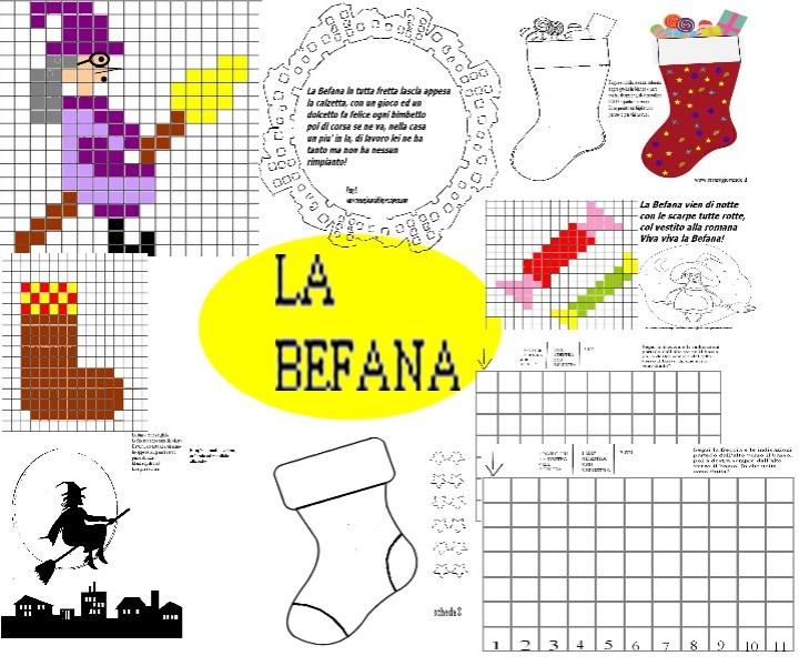 LABORATORIO BEFANA  PIXEL ART-CODING E SCHEDE CREATIVE. 12 PAGINE TOTALI 00007