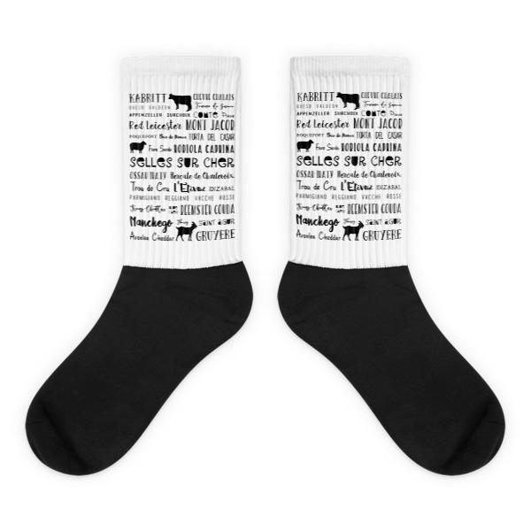Black foot socks 000002