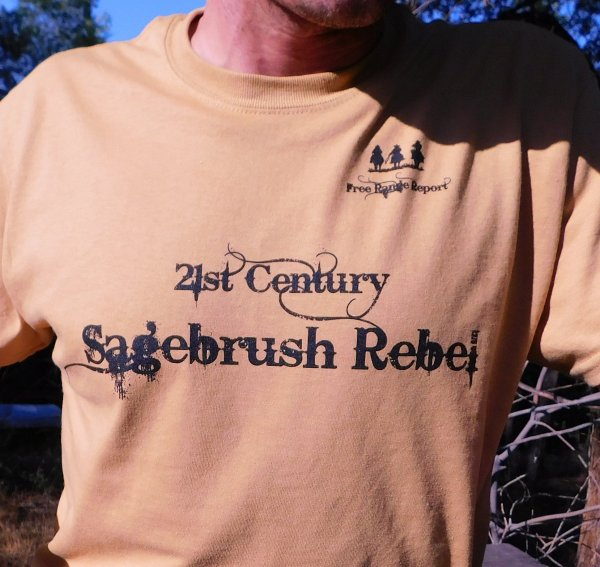 Free Range Report Membership with our Unisex T-shirt gift. 00000
