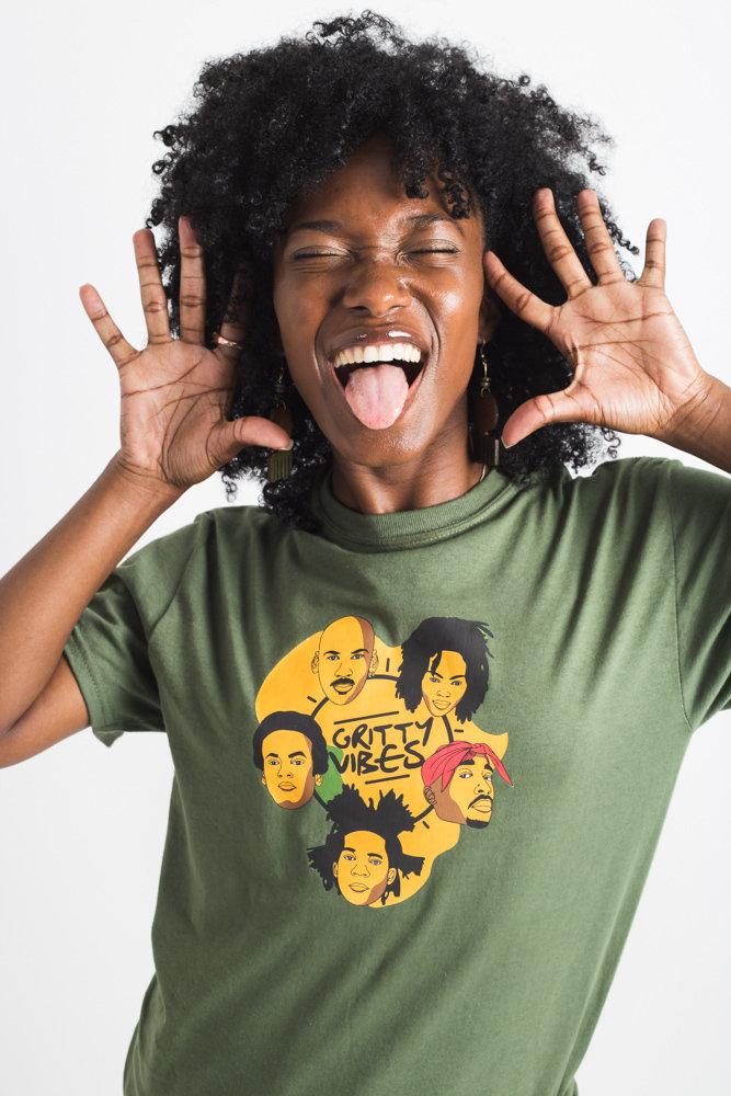 """Icons"" shirt  (Green) 00000"