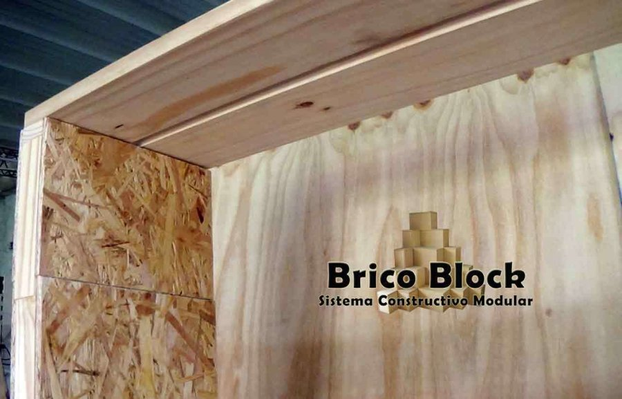 Brico Block Estantería OSB