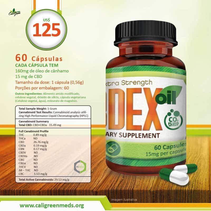 CBDEX 60 Pill 15mg 00001