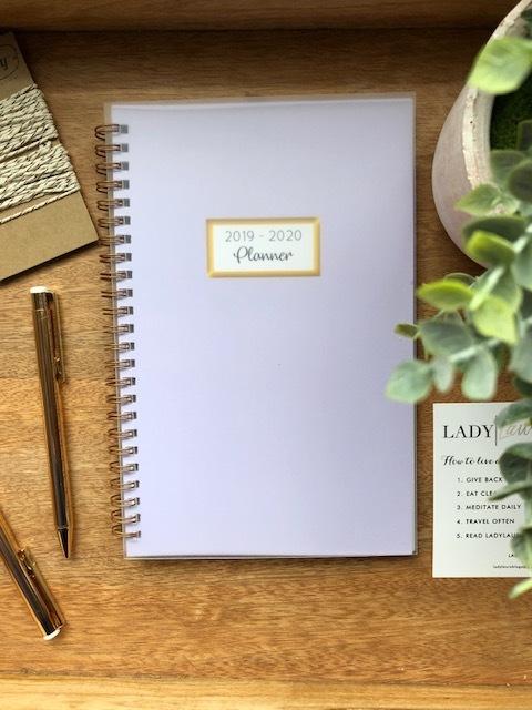 Lavender 2019 Lifestyle Planner 2