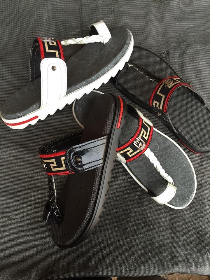 Designer Leather Slippers 00003