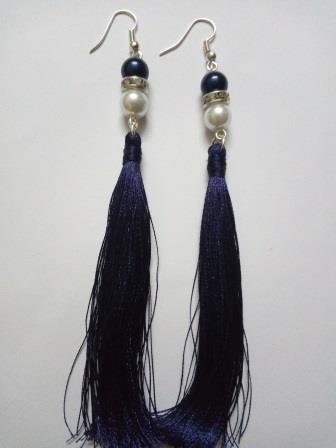 Handmade Silk Thread Earrings Set For Women