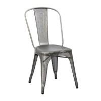 Tolix   Stuhl A   Brut Vernis perforiert