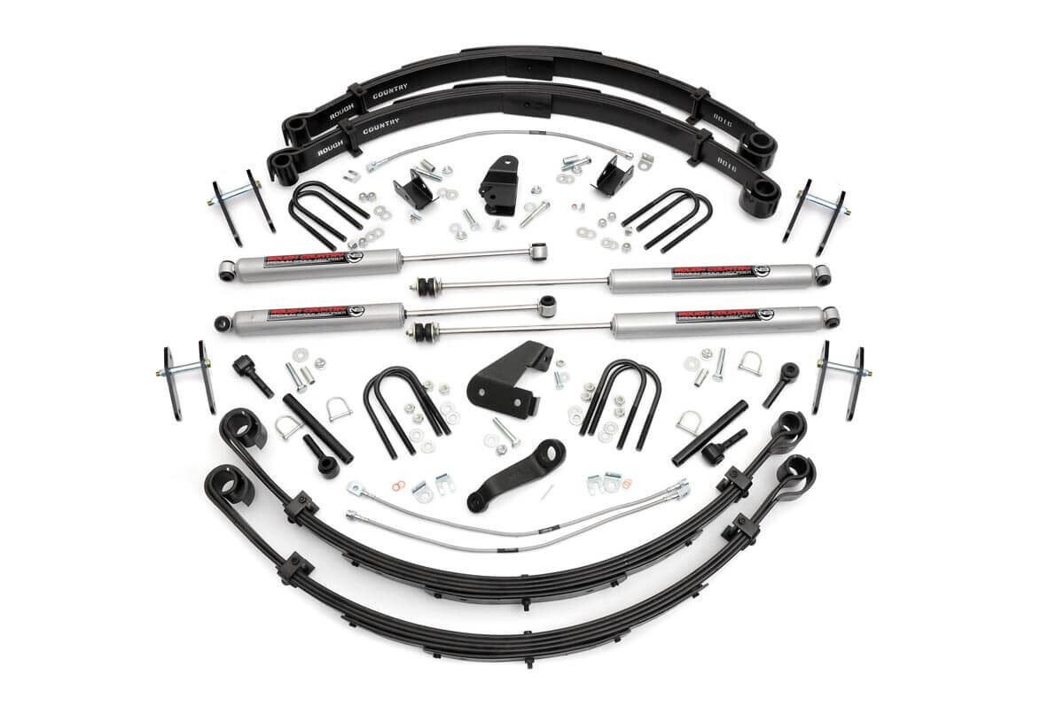 Rough Country 6 Inch Jeep Suspension Lift Kit For