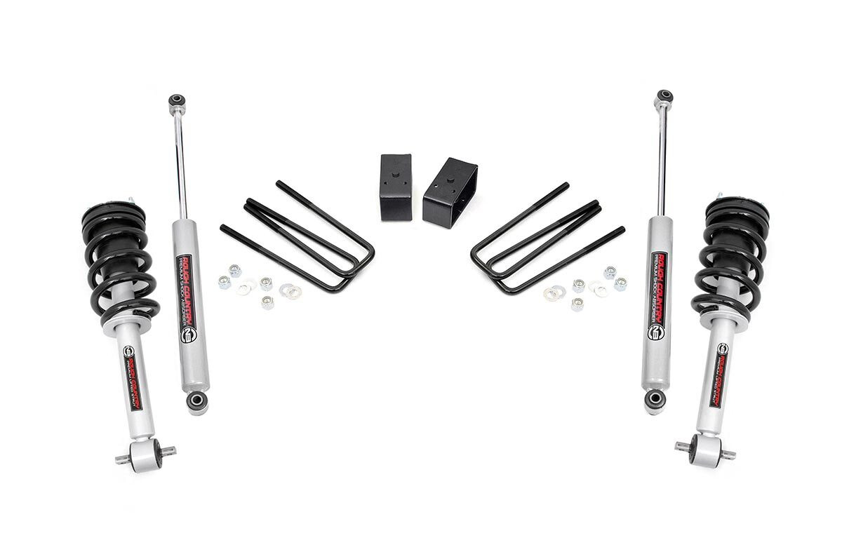 Rough Country 3 5 Gmc Suspension Lift Kit With Lifted