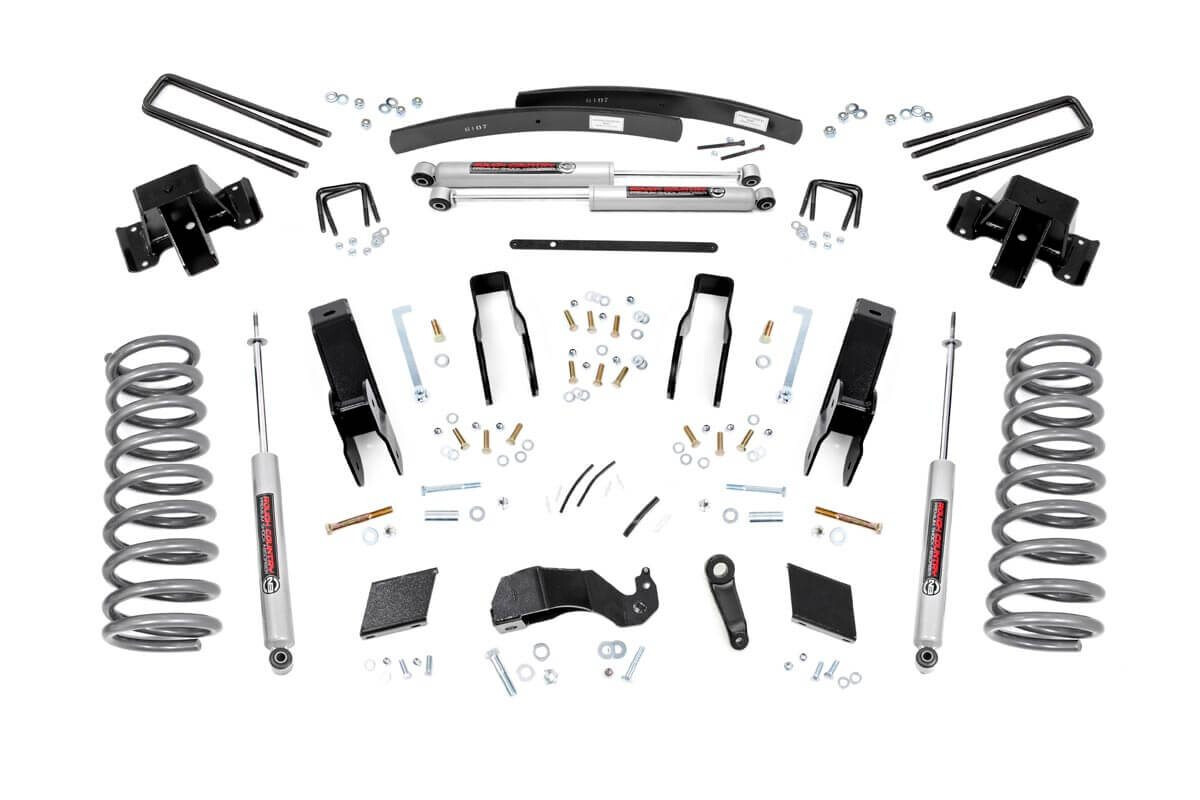 Rough Country 5 Dodge Suspension Lift Kit 94 99 Ram