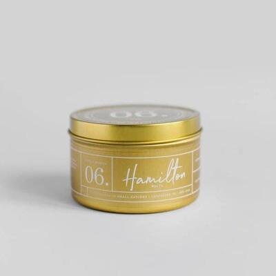 Sunday Mimosa Tin Candle