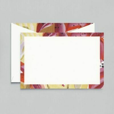 Tropical Lily White Card Set
