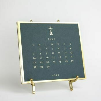 2020 Downton Abbey Engraved Easel Calendar
