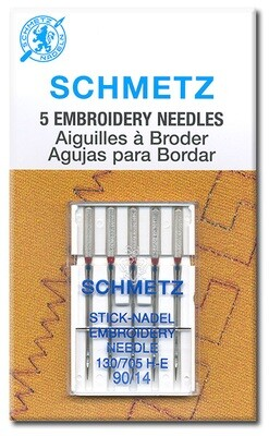 Embroidery Machine Needles (Schmetz 1720)