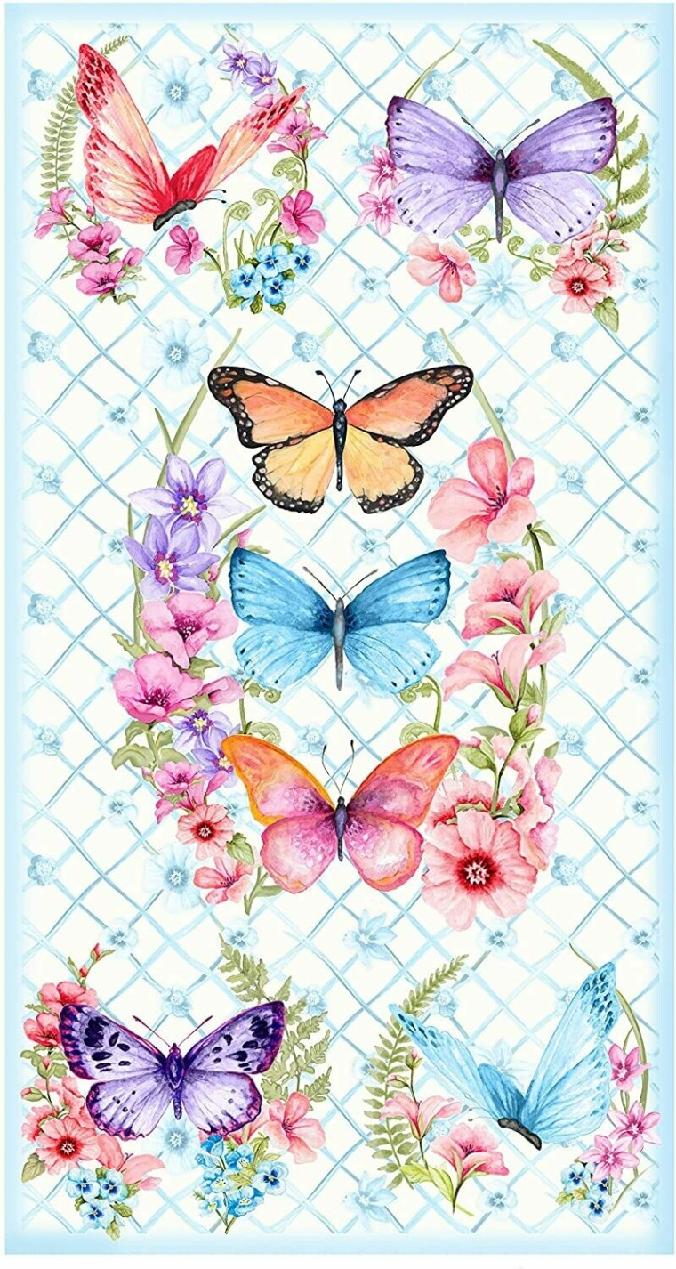 Butterfly Panel  B-9364P-07