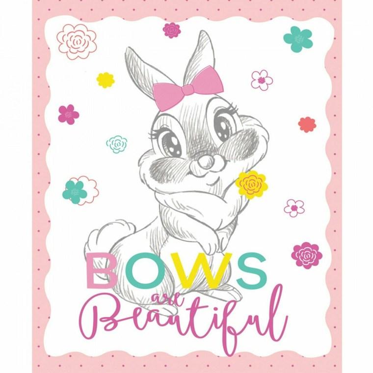 Bunny Bows Panel