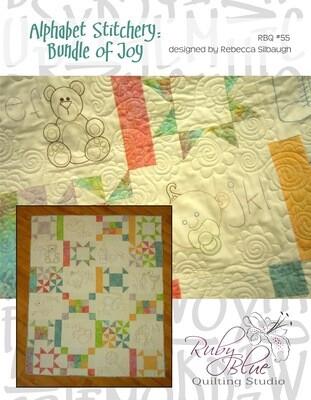 Alphabet Stitchery Bundle of Joy