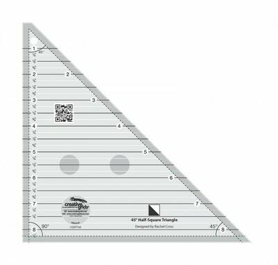 CGRT45 45 Degree Half Ruler
