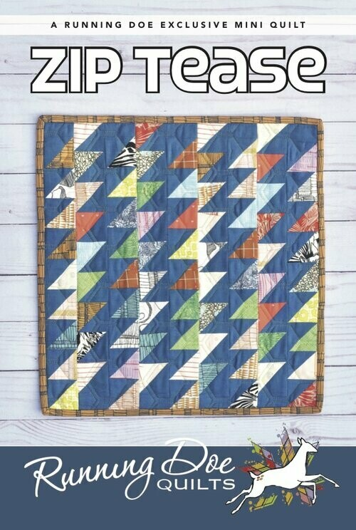 Zip Tease Mini Pattern