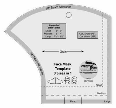 CGRFACE Face Mask Ruler