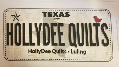 HollyDee License Plates - 516