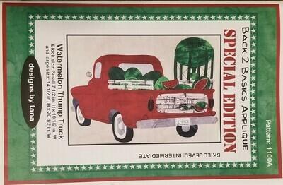 Watermelon Thump Truck