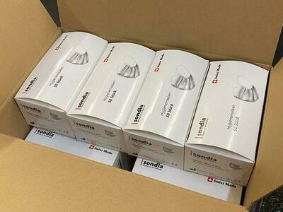 500 Hygienemasken Marke Sondia