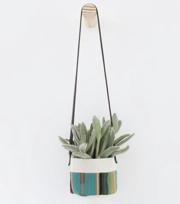 Small Canvas Hanging Planter
