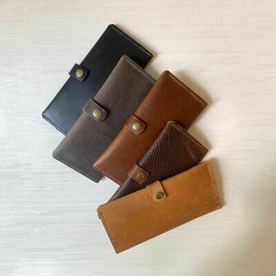 In Blue Minimalist Wallet