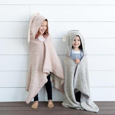 Organic Cotton Kids Travel Blanket