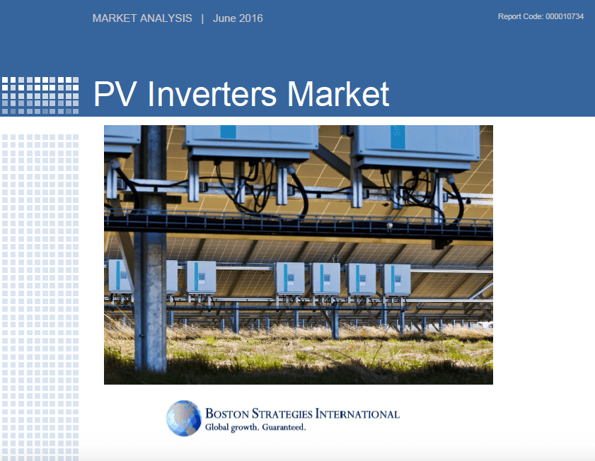 PV Inverters Market - Supplier Section 10745