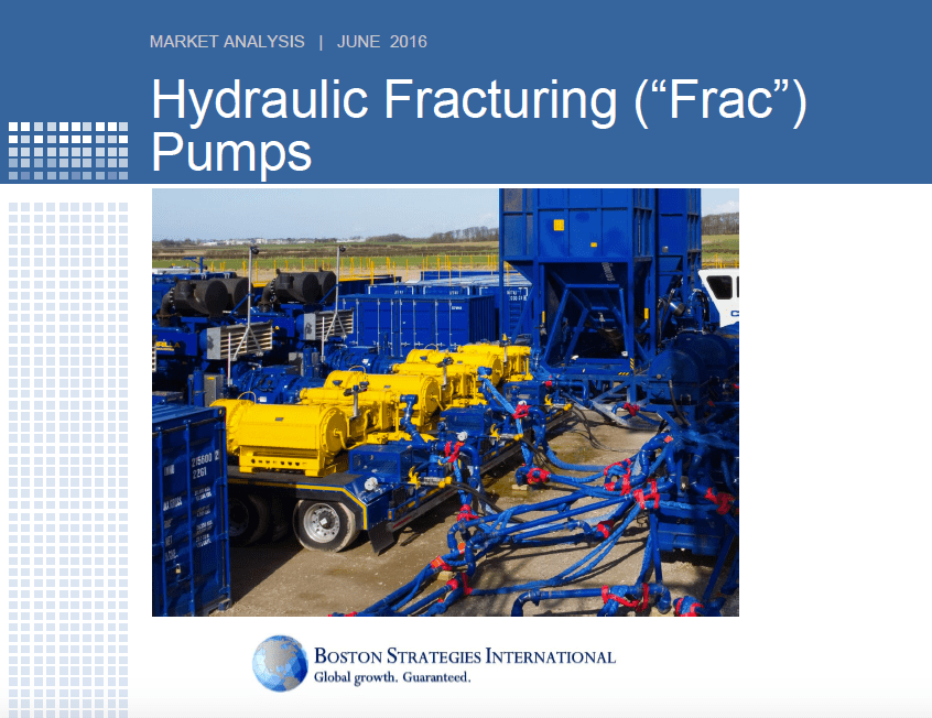 """Hydraulic Fracturing (""""Frac"""") Pumps - Summary Findings 10751"""