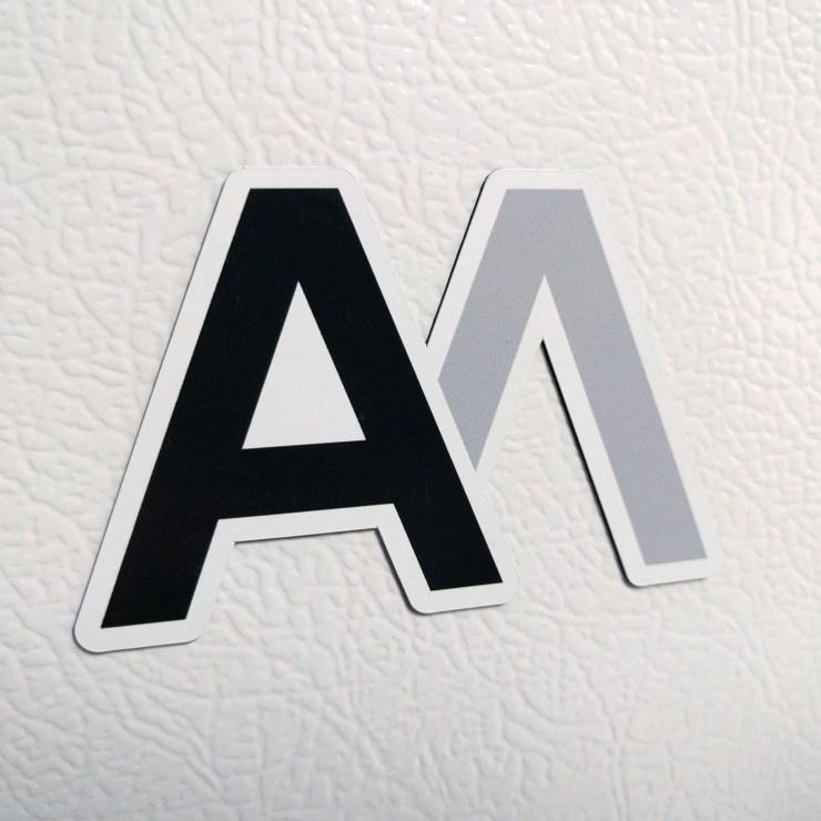 AM Logo Magnet AMLM01