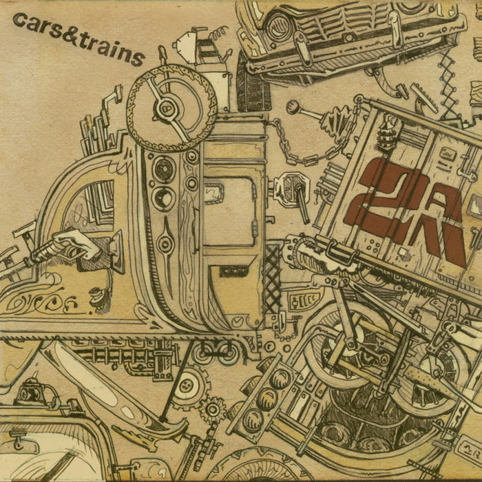 "cars & trains - ""2AM"" [CD] dhh003"