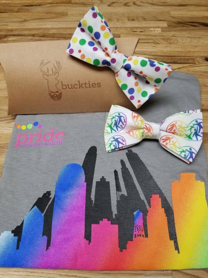 Custom PWS Logo Bow Tie by buckties!
