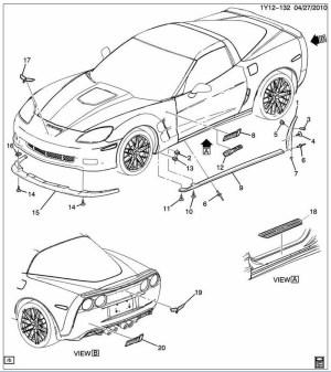 Corvette C6 Carbon Fiber Edition Z06 ZR1 Grand Sport