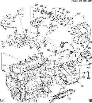 20102012 Chevy Equinox GMC Terrain 24L Heat Shield Exhaust Cover New 12643927 | eBay