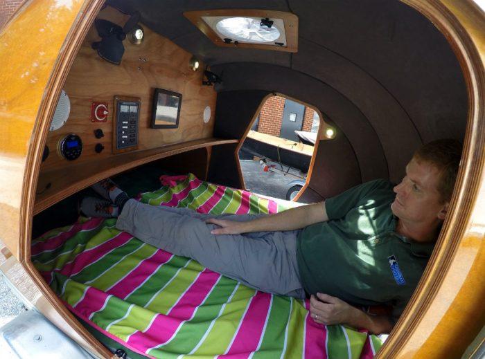 Teardrop Camper Interior