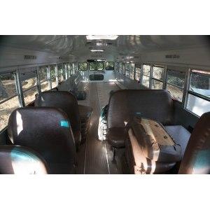 Clever Short Bus Conversion Plans Short Bus Camper