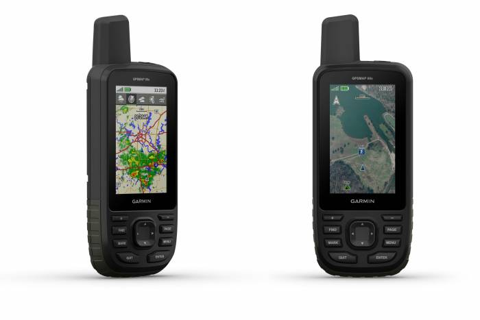 Larger Display Birdseye View Garmin Launches New