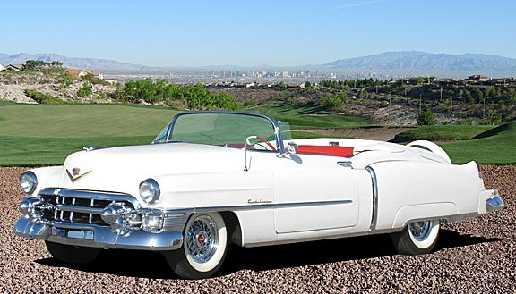1954 Cadillac Eldorado Values   Hagerty Valuation Tool     1953 Cadillac Series 62 Eldorado