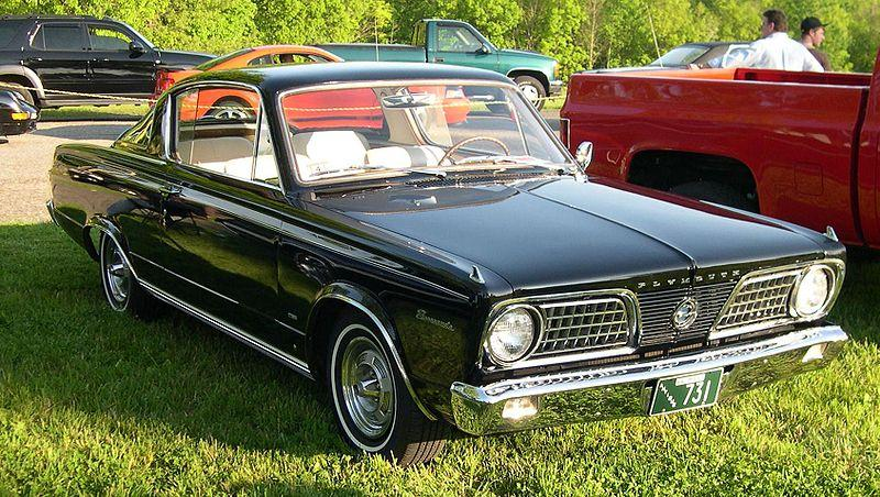 1964 Plymouth Barracuda Values   Hagerty Valuation Tool     1966 Plymouth Barracuda