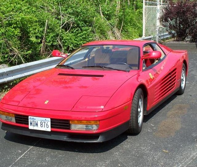 Ferrari Testarossa Coupe