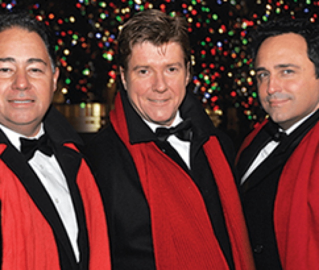 The New York Tenors The Magic Of Christmas On Wednesday Dec  Pm At The Palace Theatre  Atlantic St In Stamford
