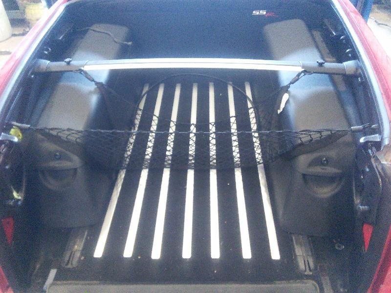 2003 04 05 06 Chevy Ssr Bed Box Rear Back Carpet Mat Kit
