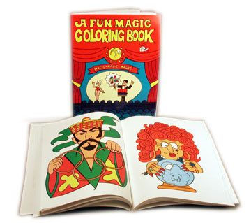 Magic Coloring Book Large